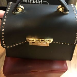 Zac Posen top handle crossbody handbag